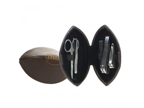 """SET MANICURE """"RUGBY"""" IN SIMILPELLE"""