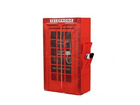 Armadio cabina telefonica casamia idea di immagine for Armadio in stoffa