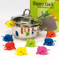 "REGGICOPERCHIO""JERRY""HAPPY COOK IN  SILICONE"