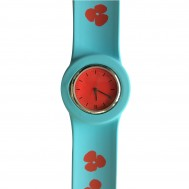 "*OROLOGIO FLOWERS ""SLAP ON WATCH"""