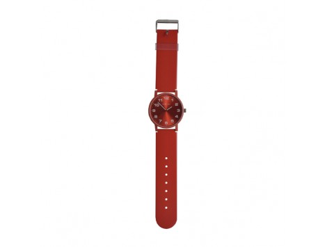 "OROLOGIO DA POLSO ""DASH RED"" IN PLASTICA RESISTENTE ALL'ACQUA"