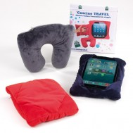 "CUSCINO/ COLLARE/PORTA-TABLET ""TRAVEL"""