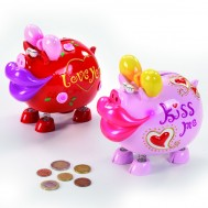"SALVADANAIO ""KISS ME PIGGY"""